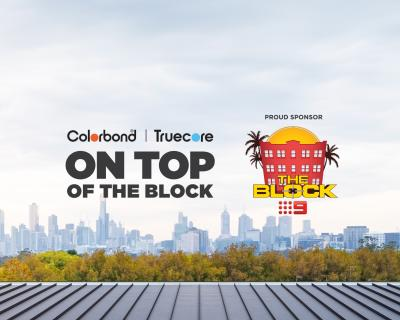 BlueScope is proud to be Sponsoring The Block 2018